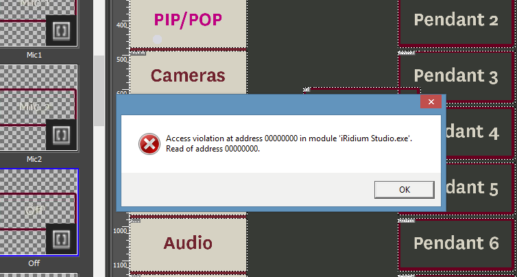 Access violations when adding images / Archive: i3 pro